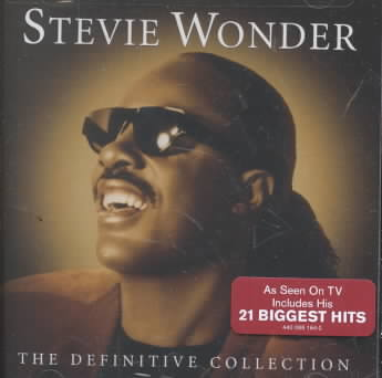 DEFINITIVE COLLECTION BY WONDER,STEVIE (CD)